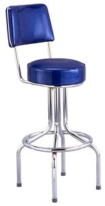 Bar Stool w Back - Nekis