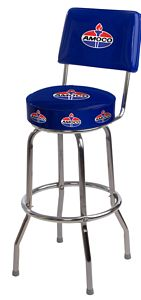 Swivel Logo Bar Stool