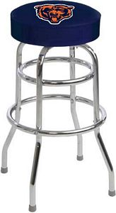 Bears logo bar stool