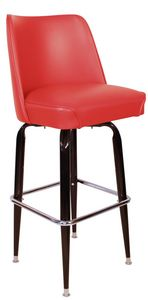 RSC Bucket Bar Stool Red_1