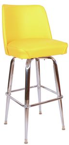 RSC Bucket Bar Stool Yellow