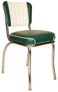 Channel Back Diner Chair