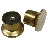 Glides - Tapered Brass