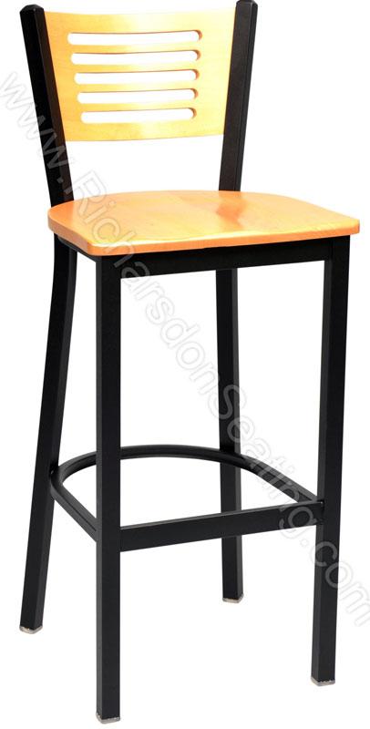 Slim Slat Cafe Stool Bar Stools And Chairs