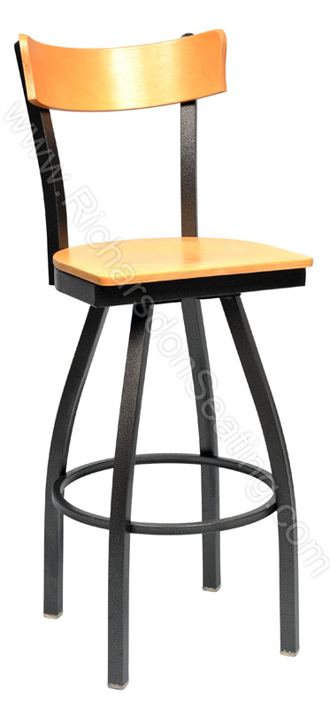 Quot Slim Quot Bow Frame Cafe Stool Bar Stools And Chairs