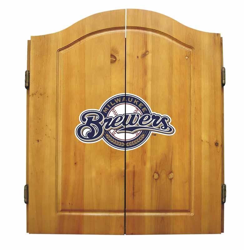 Milwaukee Brewers Dart Cabinet