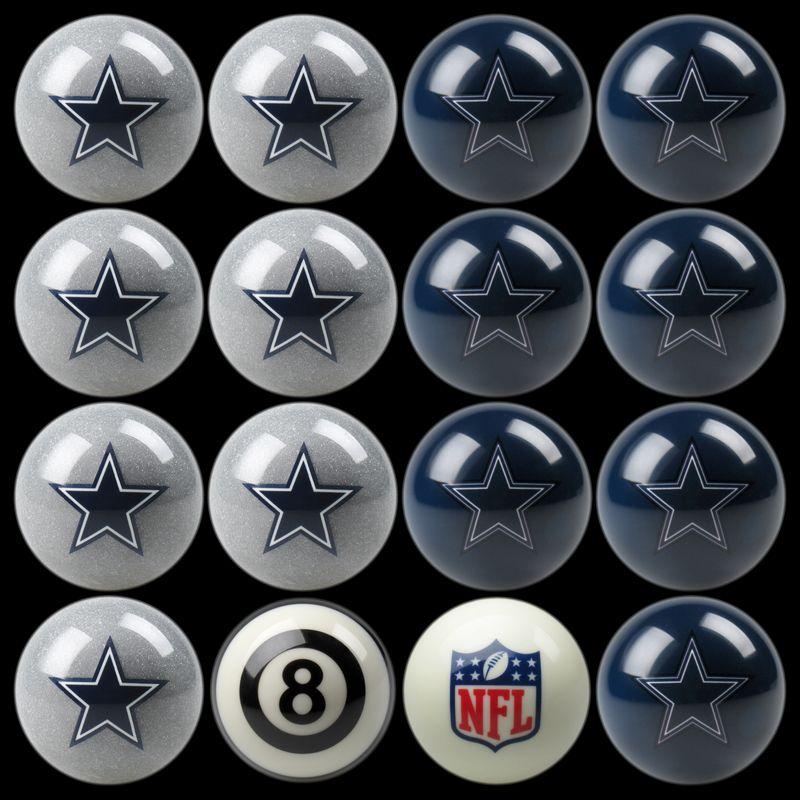 Dallas Cowboys Pool Balls Cowboys Billiards Balls