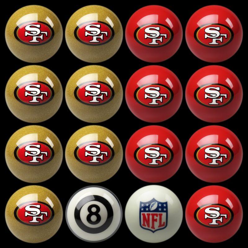 San Francisco 49ers Pool Balls San Francisco 49ers