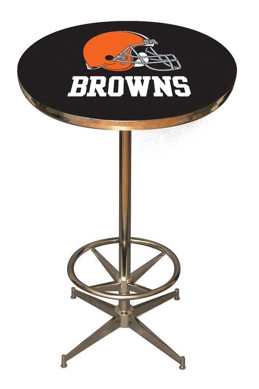 Cleveland Browns Pub Table Cleveland Bar Table Browns  : ClevelandBrownstable from www.barstoolsandchairs.com size 533 x 800 jpeg 49kB