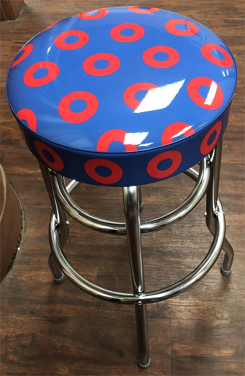 30 Quot Donut Swivel Bar Stool Made In The Usa