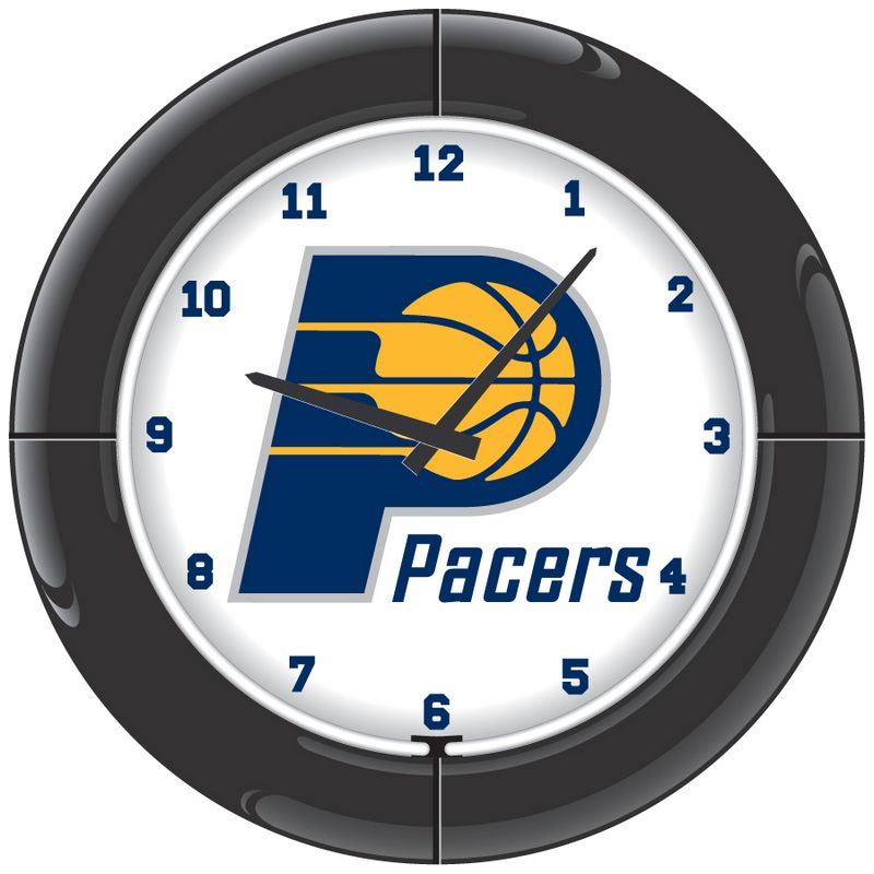 Indiana Pacers Neon Clock