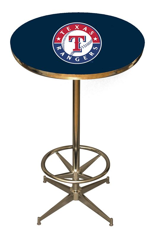 Texas Rangers Pub Table