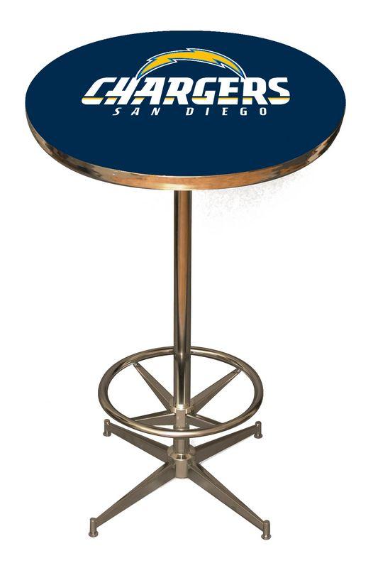 San Diego Chargers Pub Table San Diego Bar Table