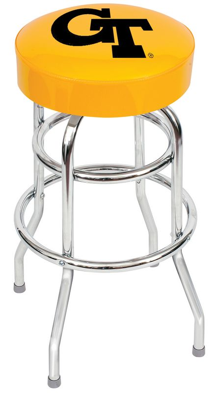Georgia Tech Yellow Bar Stool