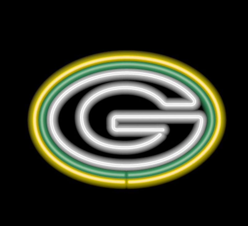 Green Bay Packers Neon Sign Green Bay Packers Neon