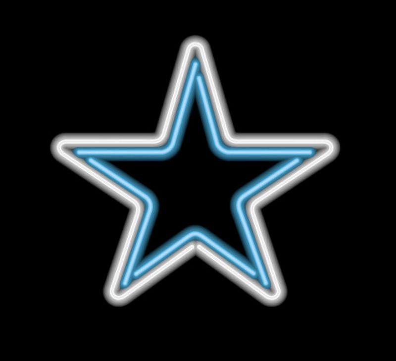 Dallas Cowboys Neon Sign Dallas Cowboys Neon