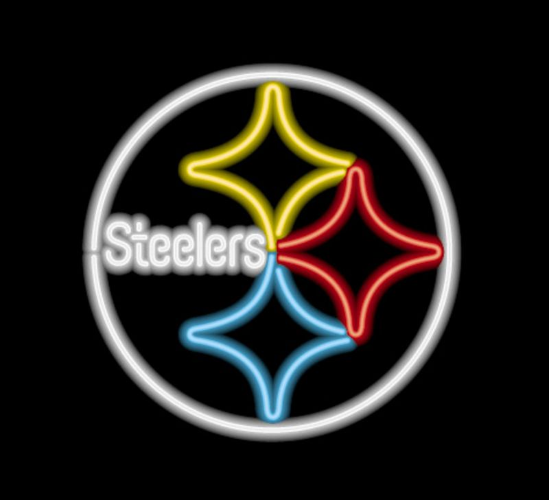 Pittsburgh Steelers Neon Sign Pittsburgh Steelers Neon
