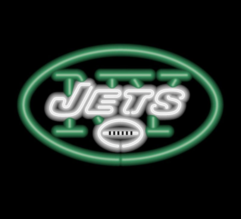 New York Jets Neon Sign New York Jets Neon