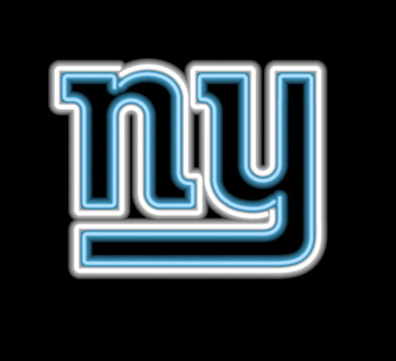 New York Giants Neon Sign New York Giants Neon