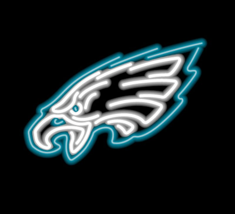 Philadelphia Eagles Neon Sign Philadelphia Eagles Neon