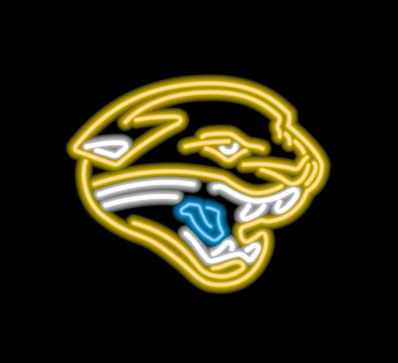 Jacksonville Jaguars Neon Sign Jacksonville Jaguars Neon