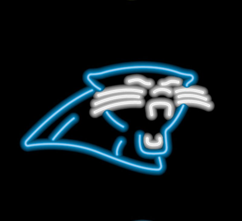 Carolina Panthers Neon Sign Carolina Panthers Neon