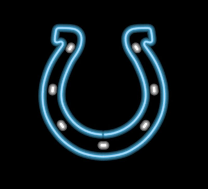 Indianapolis Colts Neon Sign