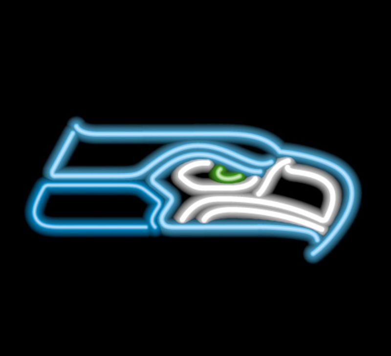 Seattle Seahawks Neon Sign Seattle Seahawks Neon