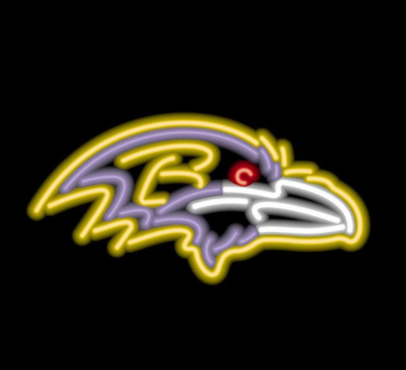 Baltimore Ravens Neon Sign