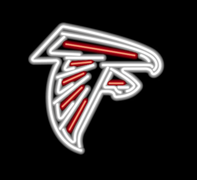 Atlanta Falcons Neon Sign Atlanta Falcons Neon