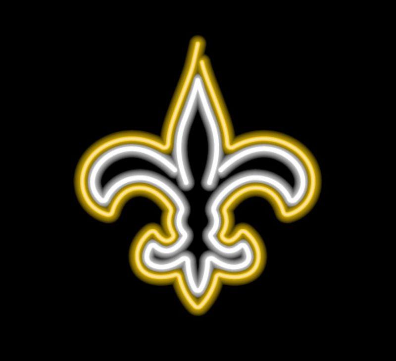 New Orleans Saints Neon Sign New Orleans Saints Neon