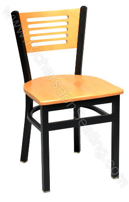 Slim-Slat Cafe Chair