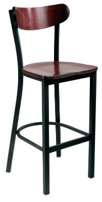 Kidney Back Cafe Stool
