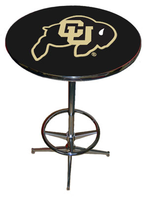 SPORTS FAN PRODUCTS Colorado Pub Table