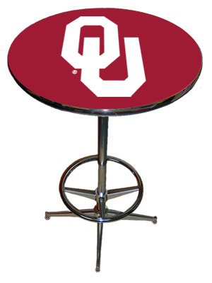 SPORTS FAN PRODUCTS Oklahoma Pub Table