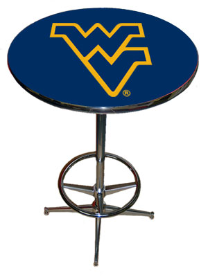 SPORTS FAN PRODUCTS West Virginia Pub Table