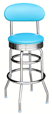 Retro Back Stool
