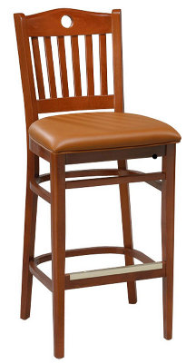 Custom Schoolhouse Bar Stool