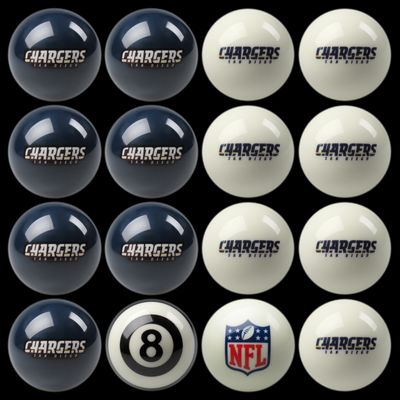 Furniture  Diego on San Diego Chargers Pool Balls   San Diego Chargers Billiards Balls