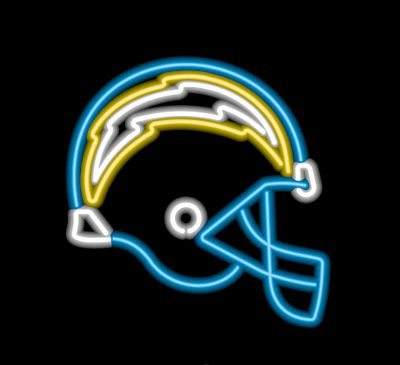 San Diego Chargers Neon Sign San Diego Chargers Neon