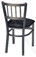 Jailhouse Cafe Chair - Upholstered Seat