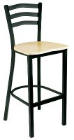 Arch Back Cafe Stool