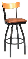 Slim Bow Frame Stool