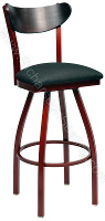 Kidney Back Bow Frame Stool