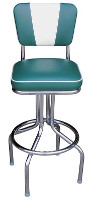 Tulip Chair Bar Stool - V-Back