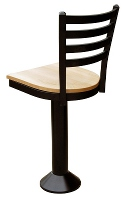 Modern Ladder Back Counter Stool