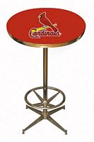 St Louis Cardinals Pub Table