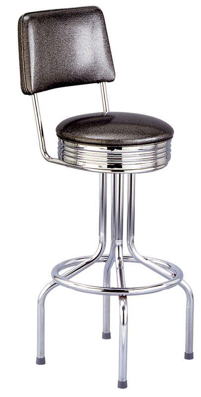 Enjoyable Henrys Stool With Back Metal Swivel Stool 360 Degree Swivel Evergreenethics Interior Chair Design Evergreenethicsorg