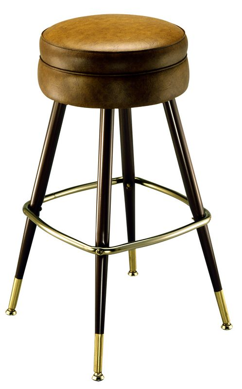 Round seat restaurant bar stools restaurant bar stools for High end counter stools