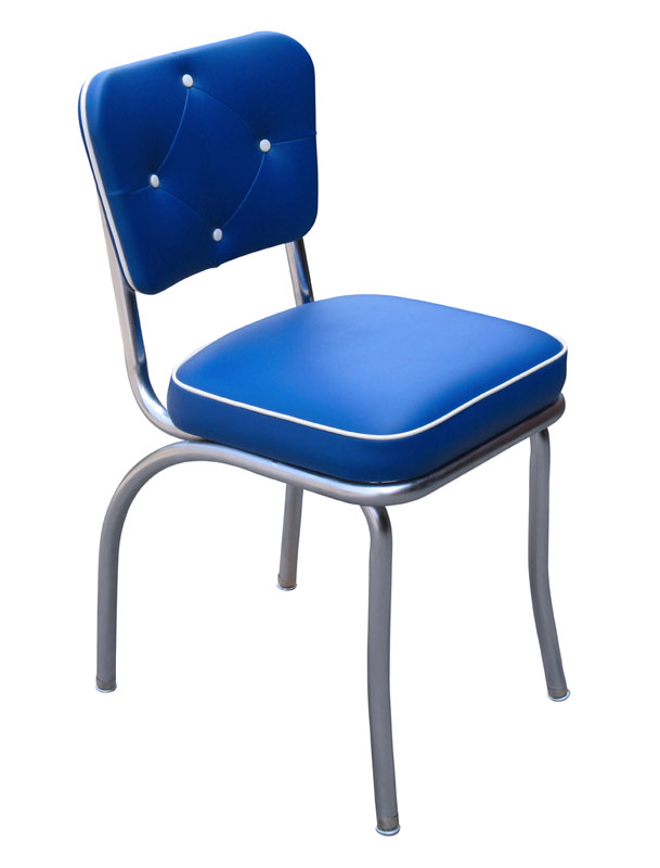 RSC Tufted Diner Chair Royal